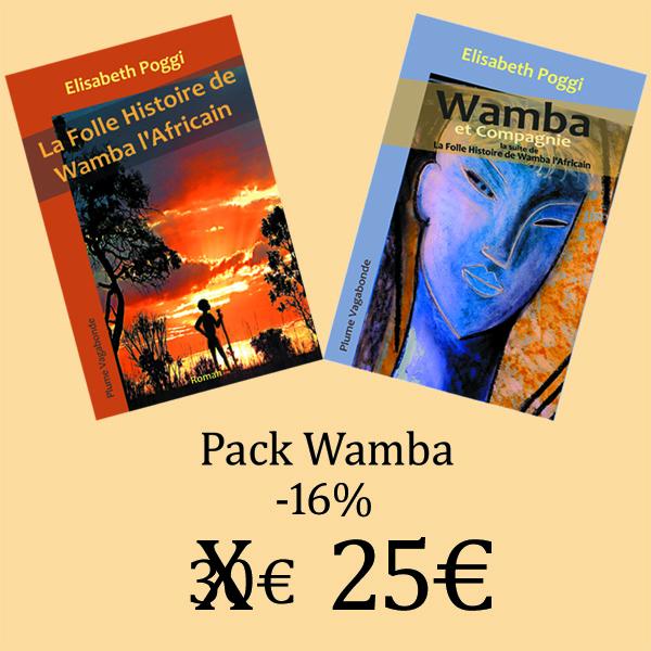 Ce pack Wamba regroupe les aventures complètes de Wamba l'Africain.
